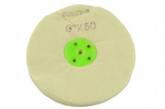 "Buffing Wheel, 6"" 150mm x 50mm, Soft Calico Polishing Mop Metalwork. X1312"